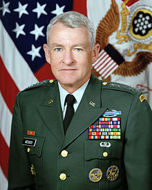 "Gen. Dennis Reimer, The Chief of Staff of the Army in 1998, collaborated with Maj. Gen. Edmund Zysk, commander  of  the 40th Infantry Division (Mechanized) on an Active Duty-National Guard Reserve Concept Paper: One team, One Fight, One future."" Following Zysk's public revelations that the  California National  Guard's 40th Infantry Division (Mechanized) was unprepared for its state mission  due  to  below par  operational funding, Reimer  met with Zysk to find ways to improve Army  systems, stretch funding, and upgrade  Army-wide readiness."