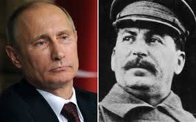 Conversion of Russia? Many argue that Vladimir  Putin has resurrected  the  icy evil incubated by Joseph  Stalin during the  Cold War.