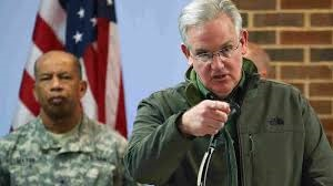 Critics allege Missouri Gov. Jay Nixon ordered the Missouri National Guard to stand down during the first night of the Ferguson riots.
