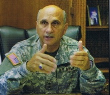 Maj. Gen. William Wade's legacy for commanding the hearts of the Cal Guard's rank and file is perhaps obscured by his agitators' influence with the legislature and media. (SSG Bob Pack, Grizzly Magazine 2004).