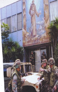 Military Support to the 1992 Los Angeles Riots, picture above, was one of the many military support to civilian authorities (MSCA) historical accounts available to the United States Army Military History Center, and the Center for Army Lessons Learned (CALL) for historical policy analysis. (CNG Grizzly Magazine photo).